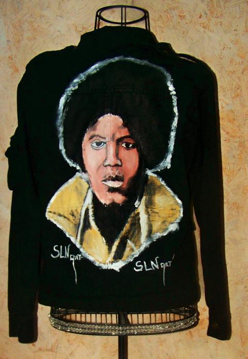 Michael Jackson by SLNstreetart